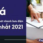 Giá chuyển phát nhanh bưu điện mới nhất 2021